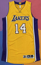 Lakers Brandon Ingram Team Issued Xl Authentic Pro Cut Jersey Rookie Rev30 Mesh
