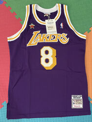 Lakers Kobe Bryant Size 44 Nwt Authentic Mitchell And Ness All Star 98 Made In Usa
