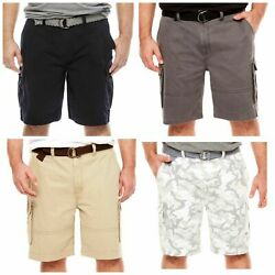 Foundry Young Menand039s Cargo Shorts 44 46 Or 52 Flex Fit - Cotton Spandex