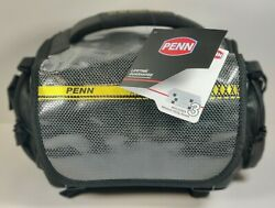 Penn Sw Angler Medium/heavy Duty Fishing Tackle Bag 3 Tackle Boxes And 10 Page🤩