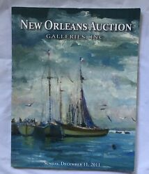 New Orleans Auction Galleries Catalog Andbull December 2011