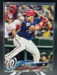 2018 Topps Update Juan Soto Rc Rookie Card Us300