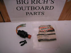 New Mercury Quicksilver Outboard Kill Switch 87-97777m Ss 97765m Free Shipping