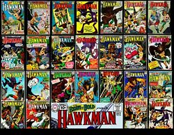 Hawkman Lot Of 25 Comic Lot Silver Age Including 123 5 - 22 Most Fn-vf