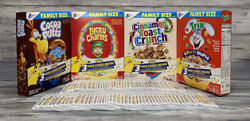 Lot Of 90 25th Anniversary General Mills Pokemon 3 Card Booster Packs No Boxes