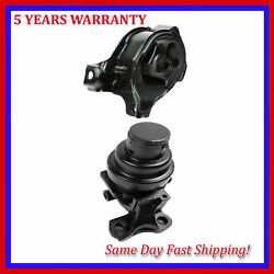 For Acura Honda Cl Accord 2.2l 2.3l Engine Motor And Trans Mount Manual 6542 6549