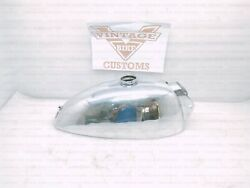 Alloy Gas Tank For Royal Enfield And Bsa Trials 1.5 Gallon