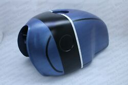 Bmw R100s R100cs R100rs R100rt Gas Petrol Fuel Tank Blue And Black Strap  fit For