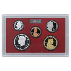 2010 S Partial Proof Set Kennedy Dime Nickel Cent 90 Silver Us Mint 5 Coins