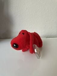 Very Rare Ty Rover Beanie Baby, Retired, Original Rare With Many Tags Errors