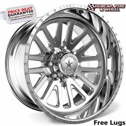 American Force Wraith Ck20 Concave Polished 30x16 Truck Wheel 5 Lug Set Of 4