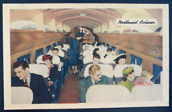 Mint Usa Color Picture Postcard Northwest Airlines