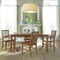 Home Styles Arts And Crafts 5 Piece Dining Set Oak