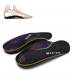 3/4 Arch Supports Comfortable Orthotics Insoles Relief Heel Spur Pain Plantar L