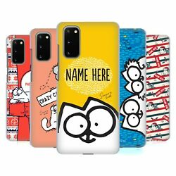 Custom Customized Personalized Simonand039s Cat Art Back Case For Samsung Phones 1