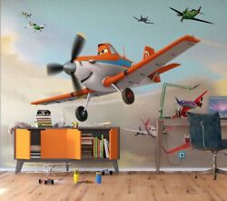 Photo Wallpaper In Giant Size 360x270cm Wall Mural Disney Planes Rusty Boys Room
