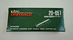 Nos Kato Unitrack Automatic Crossing Gate Track Adapter N Scale - 20-651