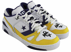 Lakers Magic Johnson Authentic Signed Converse Weapon Size 9 Shoes Bas Witness
