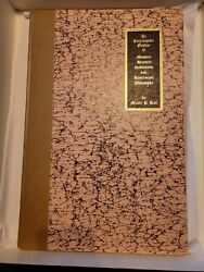 The Secret Teaching Of All Ages.signed Manly Hall 1975 Encycl Outline Masonic