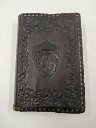 1952 Holy Bible Revised Standard Edition Thomas Nelson Gold Edge W Leather Cover