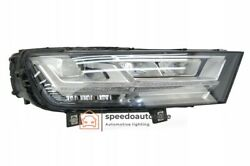 Audi Q7 Sq7 Headlight Vollled Right Top Condition Complete
