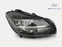 Mercedes Cls Headlight Performance Full Right Headlight Top Condition Complete