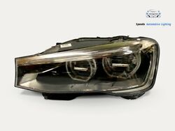 Bmw X3 X4 F25 F26 Facelift Headlight Left Full Led Top Condition