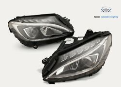 Headlight Mercedes C Class W205 Full Led Left Right Top Condition