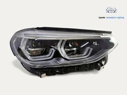 Headlight Bmw X3 G01 X4 G02 Full Led Right Top Condition Assembly Complete