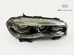 Bmw X5 F15 Headlight Vollled Right Top Condition