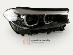 Bmw 6 G32 Headlight Vollled Right Top Condition Complete