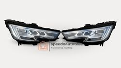 Audi A4 B9 Vollled Matrix Headlight Right Left Top Condition Complete