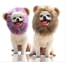 New Winter Autumn Pet Hat Halloween Lion Modelling Hats For Small Dogs And Cats