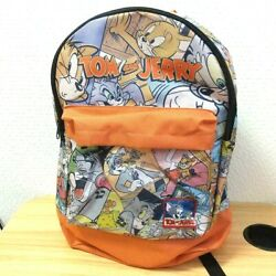 Rare Tom And Jerry Casual Backpack Vol.1 Comic Pattern Limited To Japan 16in