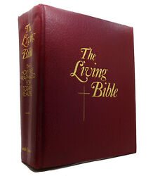 Holman The Living Bible, Paraphrased Deluxe Illustrated Edition 1st Printing