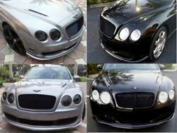 Bentley Continental Gt Gtc Flying Spur- 2pc Supersports Style Hood Vents New