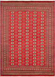 Vintage Hand-knotted Carpet 8'2 X 9'3 Traditional Oriental Wool Area Rug