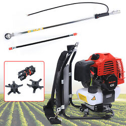 3 In 1 2-strokes Multi Brush Cutter Hedge Trimmer Tree Pruner Lawn Mower Durable