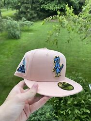 St Louis Cardinals 1957 All Star Game Blush Icy Brim Fitted Size 7 3/8 Hat Club