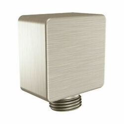 Square Drop Ell Wall Supply Elbow A721bn Brushed Nickel Moen Plumbing Part