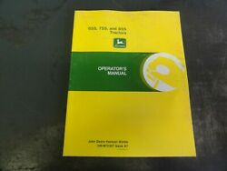 John Deere 655 755 And 855 Tractors Operator's Manual  Om-m70367 Issue A7