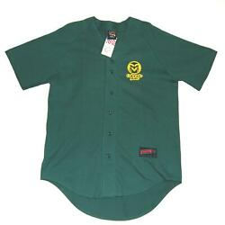 Vintage Colorado State Rams Baseball Jersey Shirt L Large Nwt Deadstock