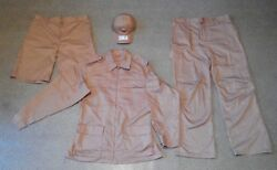 Russian Army Combat Uniform Desert Camouflage For Soldiers In Syria Us Size Xl