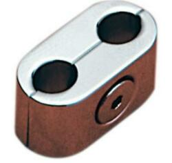 Accutronix Throttle/idle Cable Clips Tcc001bc Chrome - Oval