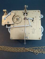 Hermle 451-030-a Grandfather Clock Movement 75 Cm W/chains And Liter.