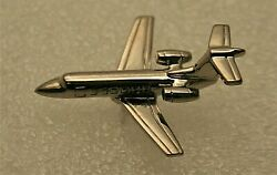 Commercial Private Company Jet Plane 1980s Promo Pin New Nos