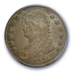 1831 50c Capped Bust Half Dollar Pcgs Xf 40 Extra Fine Cac Approved Original