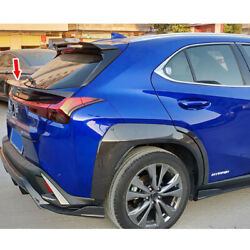 Shiny Black Rear Middle Trunk Spoiler Fit For Lexus Ux200 Ux250h Ux350 Suv 2020