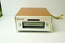 Panasonic Rs-801us Vintage Stereo 8 Track Tape Deck. Japan. Tested - Works Great