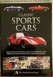 Classic Sports Cars [4 Dvds And Memorabilia Collection]